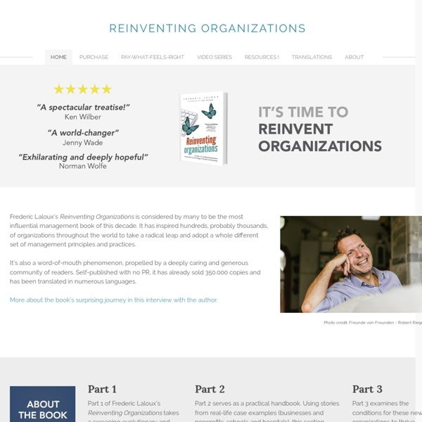 Reinventing Organizations - Home