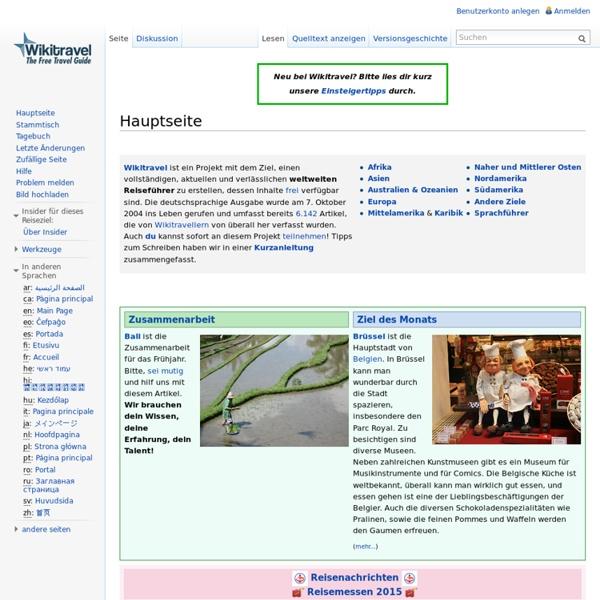 Hauptseite – Wikitravel
