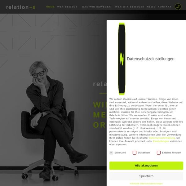 Ein Blick auf unsere Website?