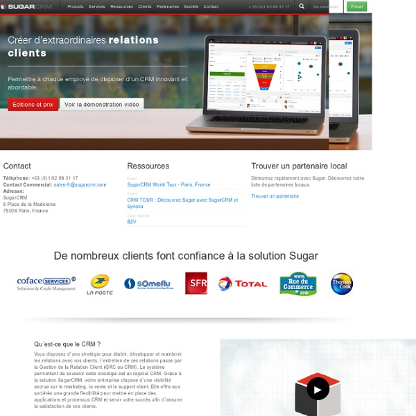 Commercial Open Source CRM
