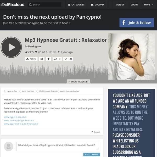 Relaxation avant de Dormir (auto-hypnose by Pankypno)