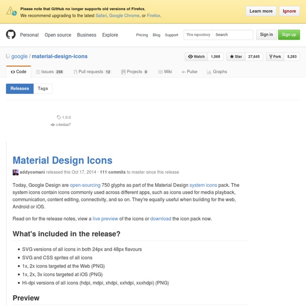 Release Material Design Icons · google/material-design-icons