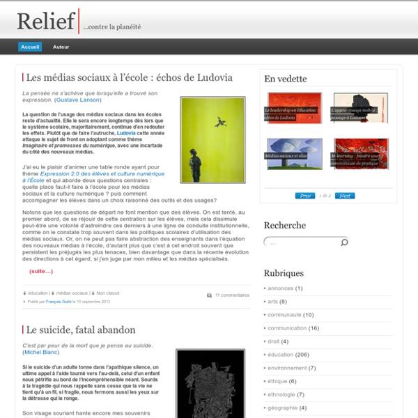 Relief - ...contre la planéité