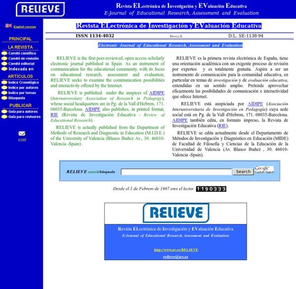 RELIEVE Scopus Q2