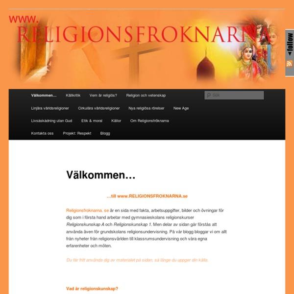 Www.religionsfroknarna.se