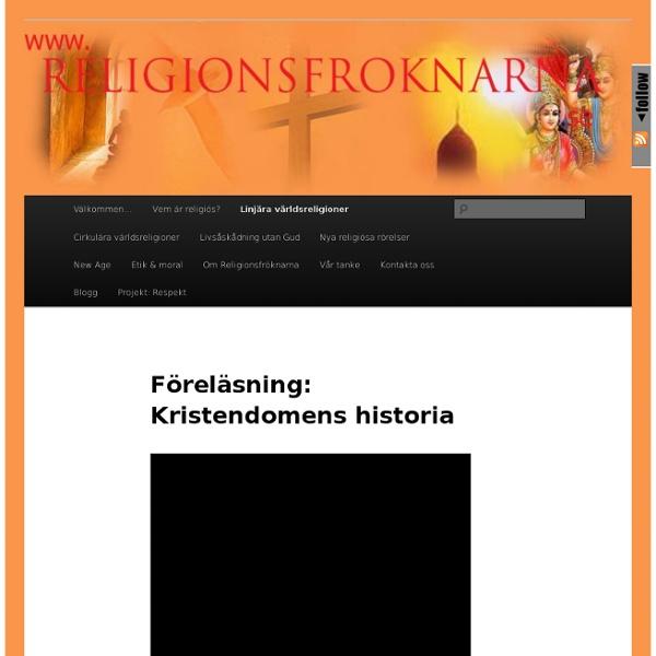 Föreläsning: Kristendomens historia