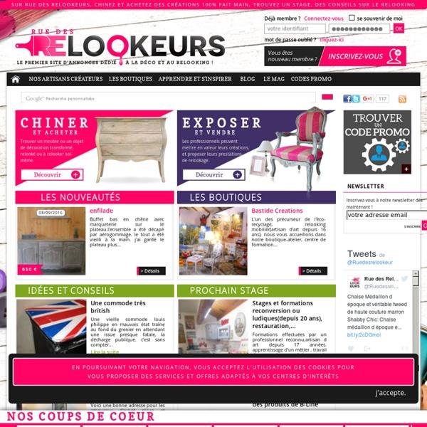 Relooking et relookage : meuble industriel bois - relooker - chiner - meubles vintage - customiser - patiner - brocante - peinture - recup - antiquité