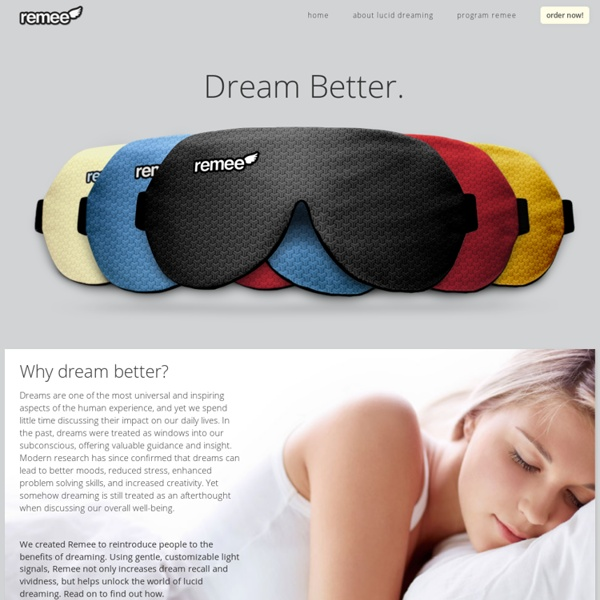 Remee - The REM enhancing lucid dreaming mask