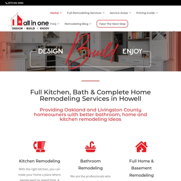 Kitchen Remodeling Services Livingston County MI