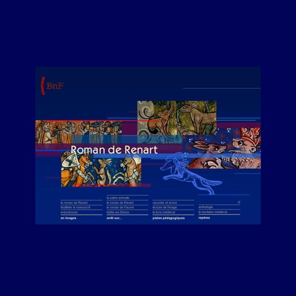 Bnf - Le Roman de Renart [expo virtuelle]