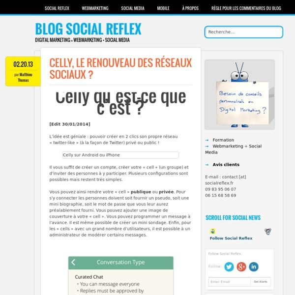 Celly, le renouveau des réseaux sociaux ?