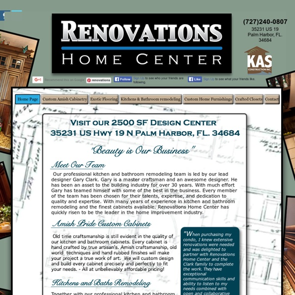 Renovations Kitchen and Bathroom remodeling