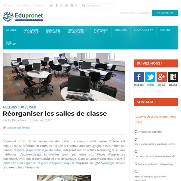 Réorganiser les salles de classe