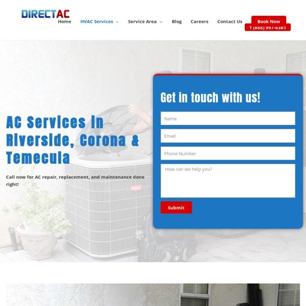 ?️ AC Repair & Maintenance Riverside, CA