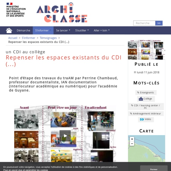 Https://archiclasse.education.fr/Repenser-les-espaces-existants-du-CDI