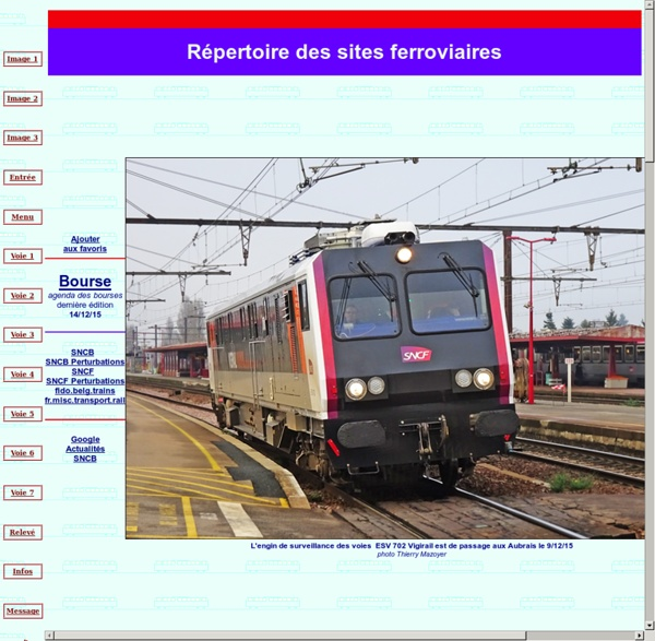 Répertoire ferroviaire