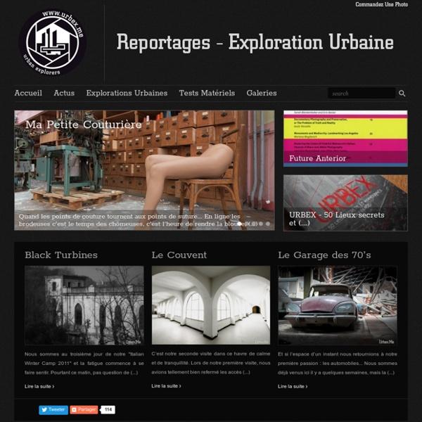 Urbex.Me - Reportages Exploration Urbaine