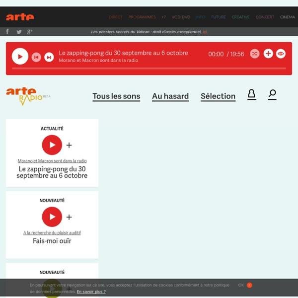 ARTE Radio - accueil
