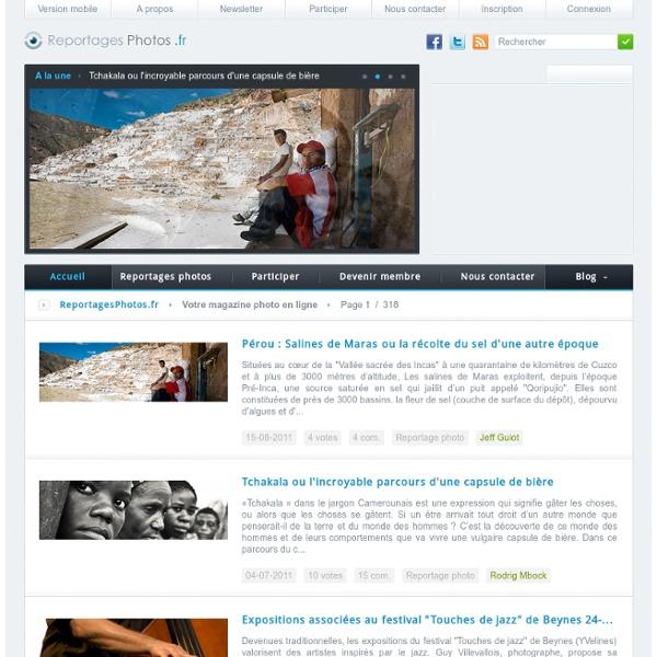 Reportages Photos - Actualité et Reportage Photo