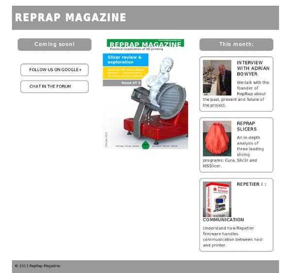 RepRap Magazine