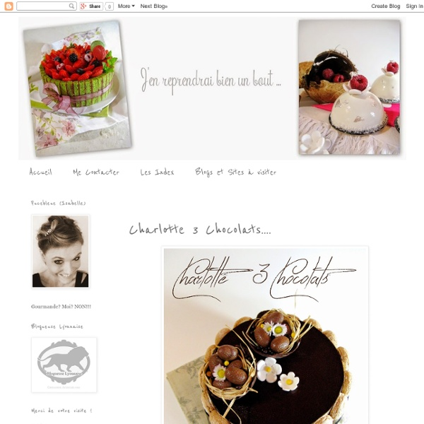 Charlotte 3 Chocolats....