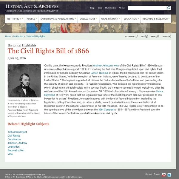 US House of Representatives: History, Art & Archives