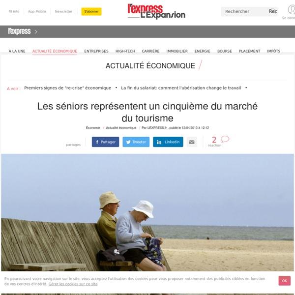 Les séniors représentent un cinquième du marché du tourisme