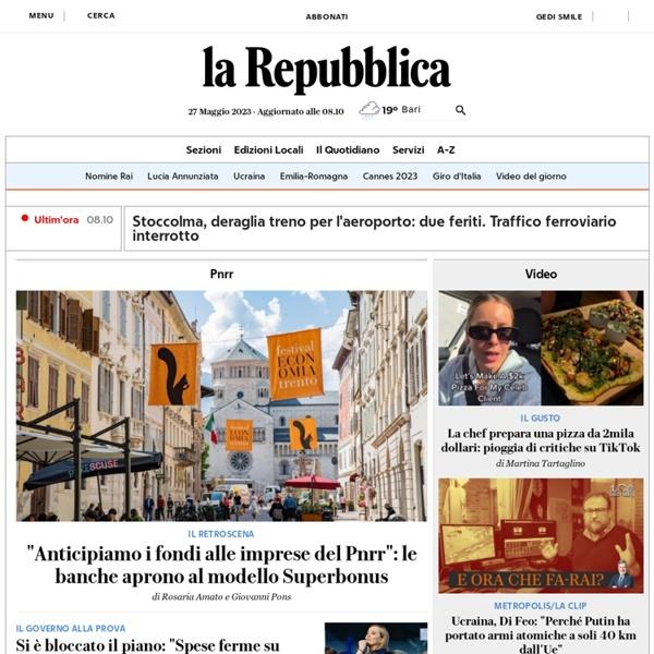 Repubblica.it Mobile