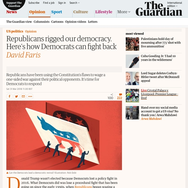 Republicans rigged our democracy. Here's how Democrats can fight back