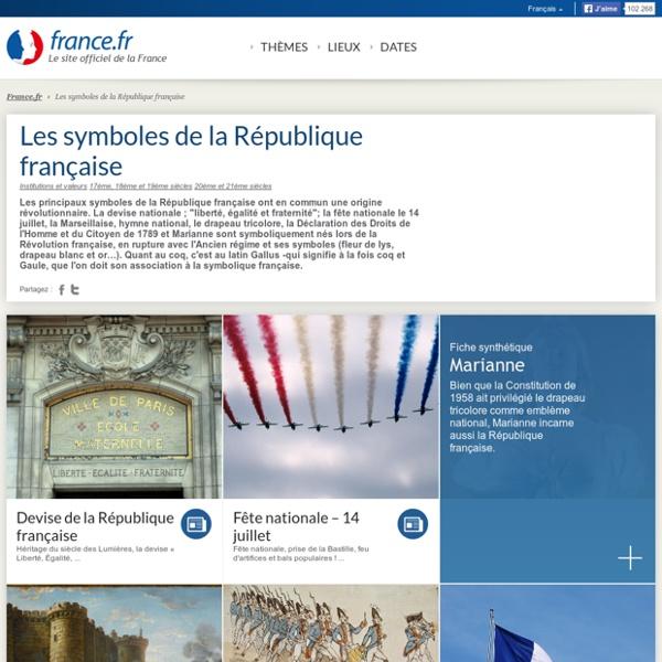 Les symboles de la République française: articles et informations