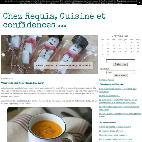 Chez Requia, cuisine et confidences ...