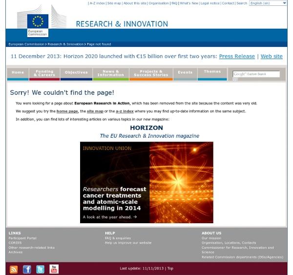 Recherche - La biodiversité en Europe