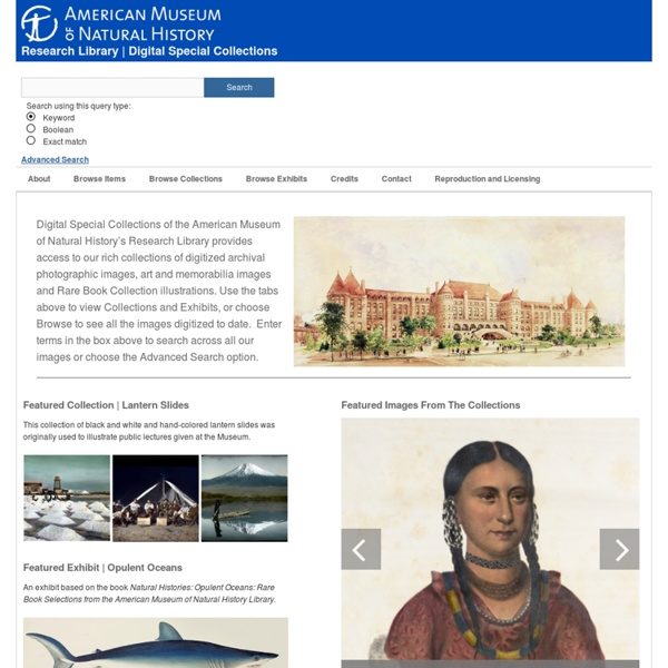 AMNH Digital Special Collections