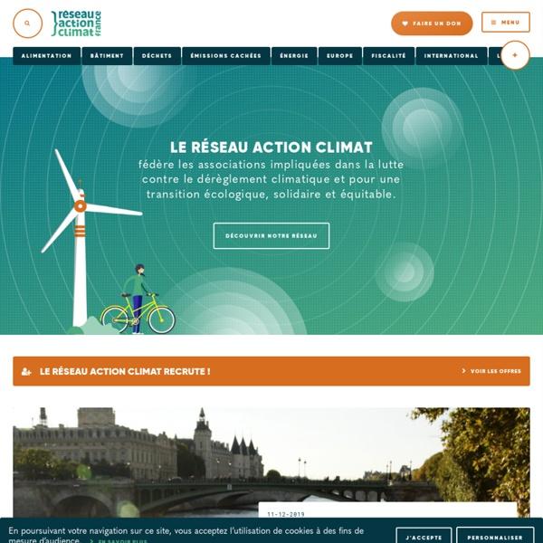 RESEAU ACTION CLIMAT FRANCE
