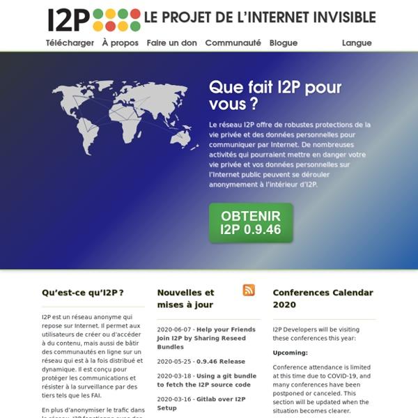 Réseau anonyme I2P