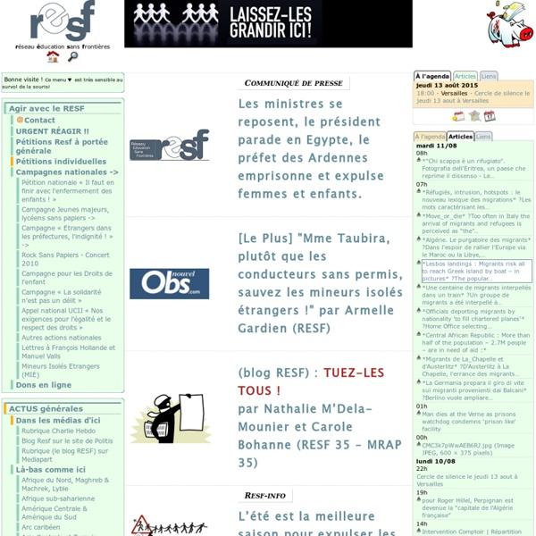 Réseau Education Sans Frontières