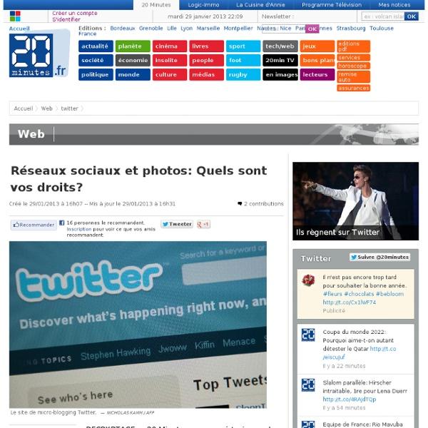 Réseaux sociaux et photos: Quels sont vos droits?