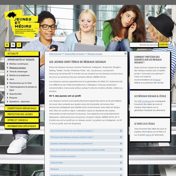 Les jeunes et le Web2.0