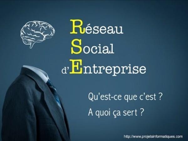 Les Réseaux Sociaux d'Entreprise (RSE)