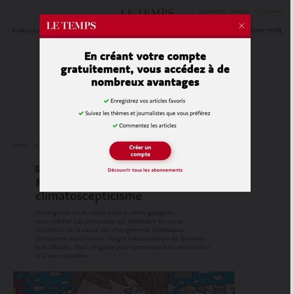 Manuel de résistance au climatoscepticisme