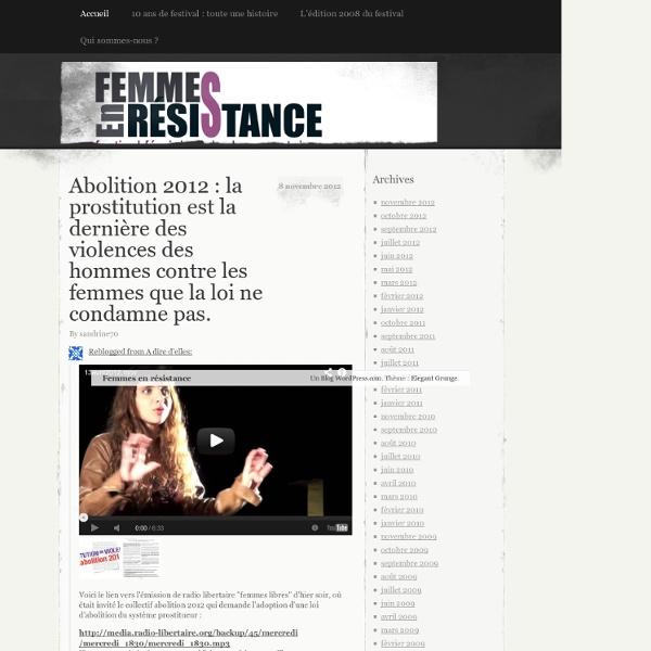 Festival féministe de documentaires