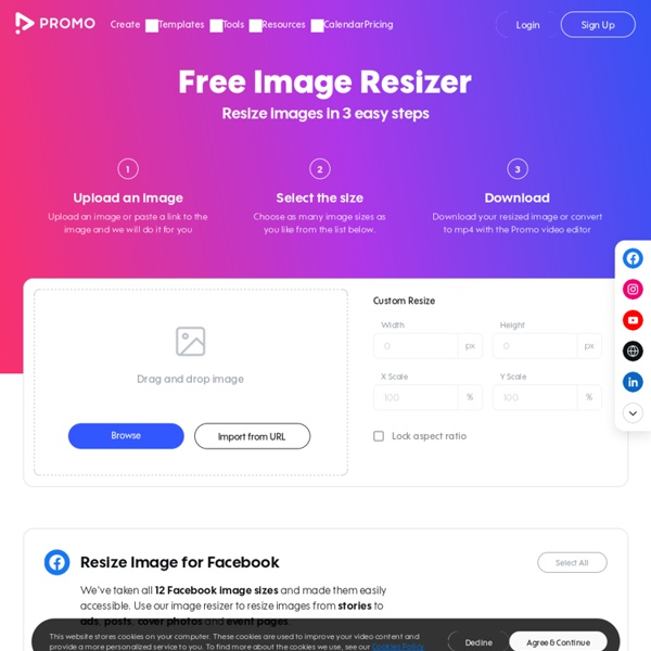 Resize Your Images for Social Media