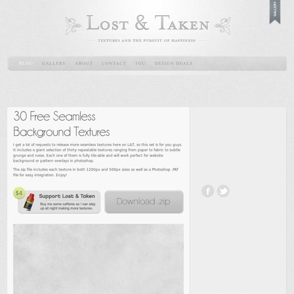 30 Free Seamless BackgroundTextures