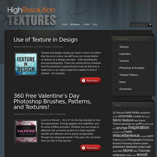 Free Textures, Game Textures, 3D Textures, Design Resources and More