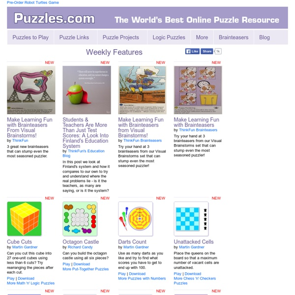 Puzzles.COM Home