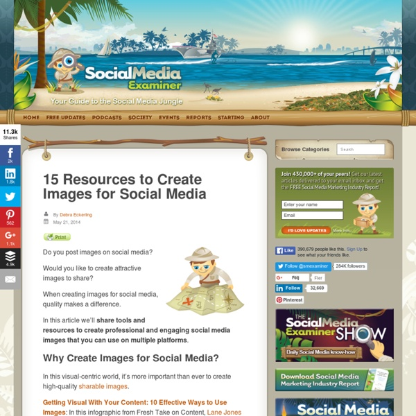 15 Resources to Create Images for Social Media Social Media Examiner