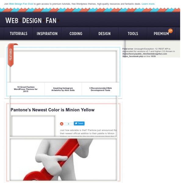 Resources for Web designers and Graphic Designers