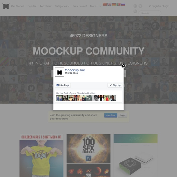 Show & Share your mockups