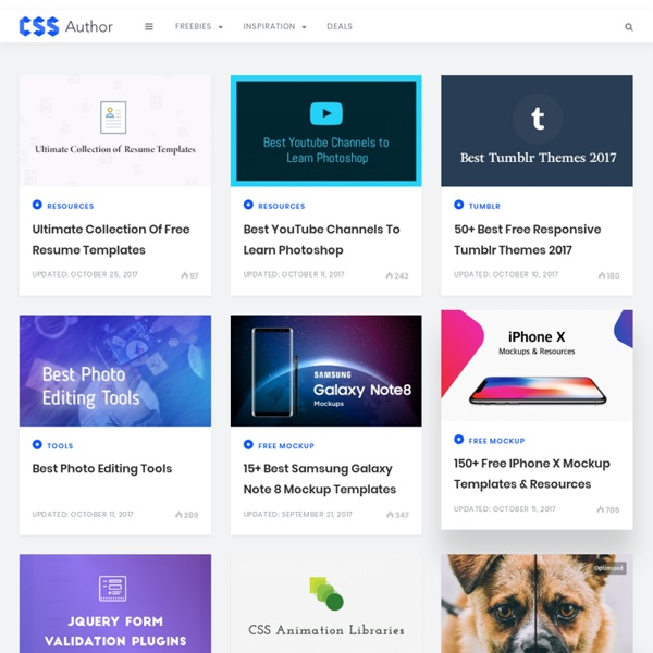 Web/UI Resources < Freebies, Fonts, Icons, Inspirations, Apps