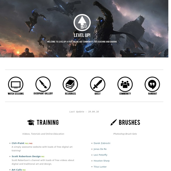Resources — Level Up!